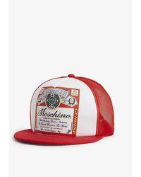 Moschino Budweiser Baseball Cap - Red