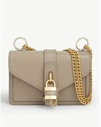 Chloé - Aby Chain Leather Shoulder Bag - Lyst
