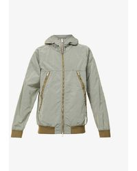 Replay Sportslab Zipped Shell Jacket - Green