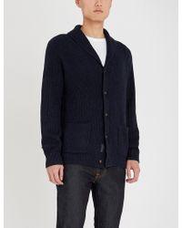 Polo Ralph Lauren - Shawl Collar Cotton Knitted Cardigan - Lyst