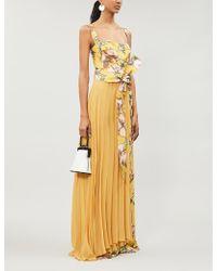 Silvia Tcherassi Alsine Floral-print Crepe Jumpsuit - Multicolour