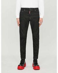 DSquared² Tapered Slim Jeans - Black