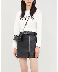 Maje Embroidered Sweatshirt - White