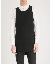 The Soloist - Longline Cotton-jersey Vest Top - Lyst