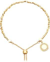 Astley Clarke   Cosmos 18ct Yellow-gold Vermeil And Sapphire Kula Bracelet   Lyst