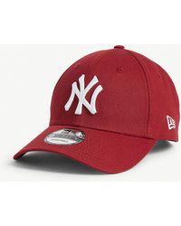 KTZ New York Yankees 9forty Baseball Cap - Red