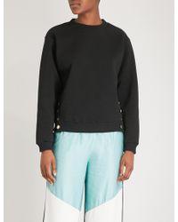 Maje - Dream Tomorrow Cotton-blend Sweatshirt - Lyst