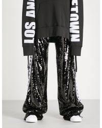 Faith Connexion - X Kappa Sequinned Jogging Bottoms - Lyst