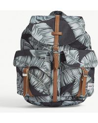Herschel Supply Co. - . Black Palm And Tan Brown Floral Dawson Backpack - Lyst