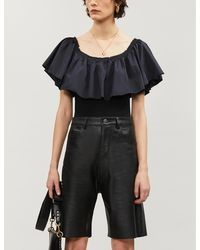 Free People Poof Goes My Heart Jersey Body - Black