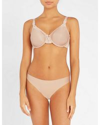 Chantelle Hedona Moulded Underwired Bra - Natural