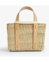 Muuñ Mini Sirius Straw Bag - Multicolour