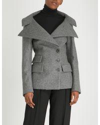 Antonio Berardi - Neffa Virgin Wool And Cashmere-blend Jacket - Lyst