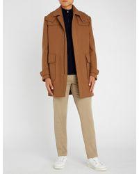 Corneliani - Hooded Wool-blend Duffle Coat - Lyst
