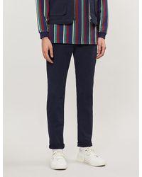 Neuw Lou Slim Straight Stretch-cotton Twill Jeans - Blue
