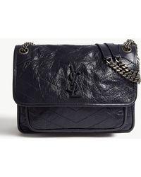 Saint Laurent - Niki leather shoulder bag - Lyst