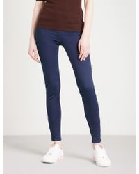 Ted Baker Skinny Mid-rise Jeans - Blue