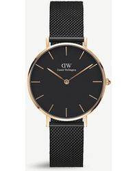 Daniel Wellington Dw00100201 Classic Petite Ashfield Rose Gold-plated Watch - Metallic