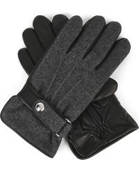 Polo Ralph Lauren - Wool & Leather Touch Screen Gloves - Lyst