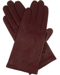 Sandro - Garance Leather Gloves - Lyst