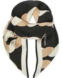 Sportmax - Rope Print Silk Scarf - Lyst