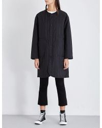 Chocoolate - Long Padded Shell Jacket - Lyst