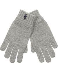 Ralph Lauren Wool Gloves - Gray