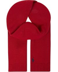 Pink Pony - Knitted Wool Scarf - Lyst