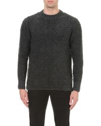 Blood Brother - Boucle Knitted Jumper - Lyst
