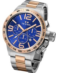 TW Steel - Cb143 Rose Gold-plated Stainless Stee Watch - Lyst
