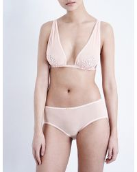 Daydream Nation - Gin And Tonic Mesh Soft-cup Bra - Lyst