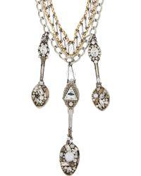 Erickson Beamon - Hunger Spoon Necklace - Lyst