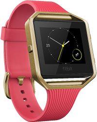 Fitbit - Blaze Large Fitness Watch - Lyst