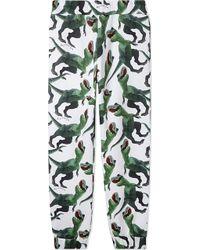Au Jour Le Jour - Pure Cotton Dino Print Jogging Bottoms 4-14 - Lyst