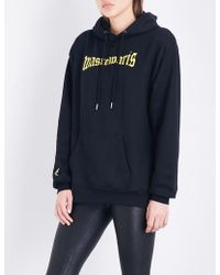 Wasted Paris - Black London Cotton-jersey Hoody - Lyst