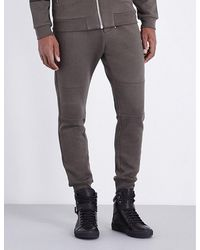 The Kooples - Ribbed-detail Jersey Jogging Bottoms - Lyst