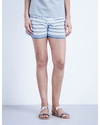 lemlem - Sleina Cotton-blend Shorts - Lyst