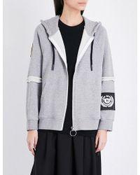 Nicopanda - Brand Logo Cotton-jersey Hoody - Lyst