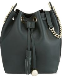 Mo&co. - Leather Bucket Bag - Lyst