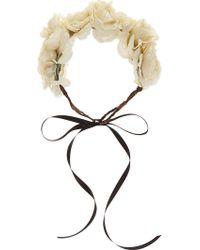 Rock N Rose - Martha Floral Crown - Lyst
