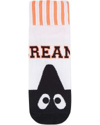 Mini Cream - Cream Eyes Logo Socks - Lyst