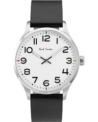 Paul Smith - Mens Silver Contrast Classic Watch - Lyst