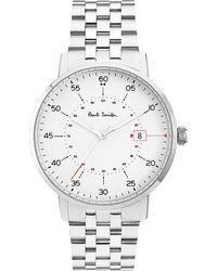Paul Smith - Gauge P10074 Stainless Steel Watch - Lyst
