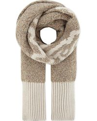 See By Chloé - Chunky Knitted Logo Scarf - Lyst