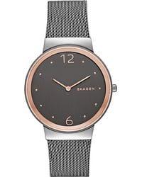 Skagen - Skw2382 Freja Stainless Steel Watch - Lyst
