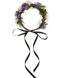 Rock N Rose Violet Meadow Crown - Purple