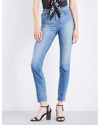 Rockins Straight High-rise Jeans - Blue