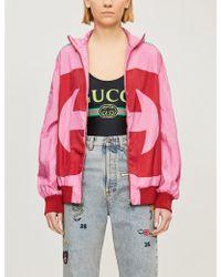 Gucci Logo-print Stretch-jersey Body - Multicolour