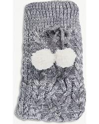 The White Company - Chunky-knit Slipper Socks - Lyst