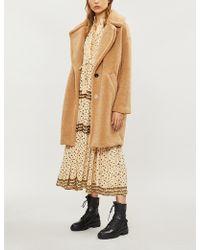 Free People - Rare Feelings Floral-print Woven Midi Dress - Lyst